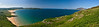 Here is a panorama of Mulroy Bay, near the mouth