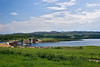 Here is the long awaited bridge across to Carrigart.  We heard a lot about this in Fanad.