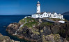 This is actually a 6 picture panorama stitched together.  Lighthouse at Fanad Point.
