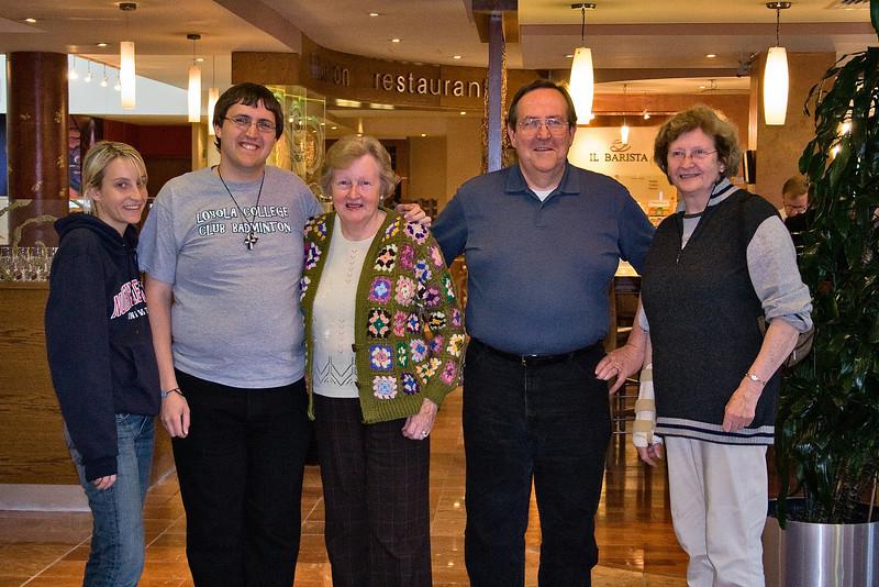hilda & celene visit us in Dublin