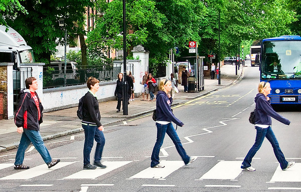 Day 7 - Day 3 in England, London - Abbey Road, Piccadilly, Buckingham