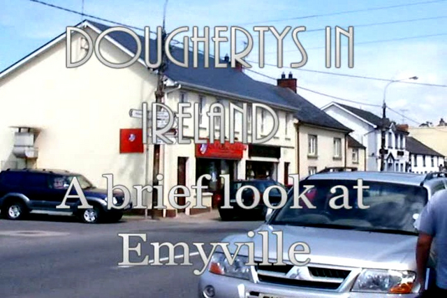 After picking up from Hertz, we headed north and halfway to Fanad, we stopped in Emyville.