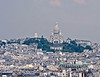 Basilica de Sacre Coeur ... from the top of Notre Dame