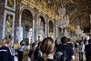 When they depict Versailles in the movies, this is the room they try to copy, Galerie des Glaces, the Hall of Mirrors.  Just immense and overwhelming.