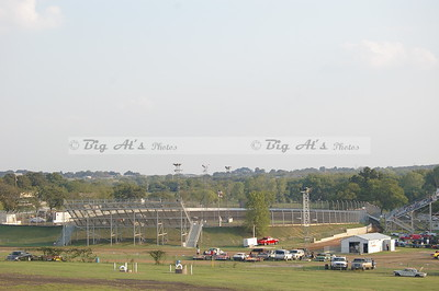 This is Kennedale SPeedway park as seen from the stands at Cowtown.