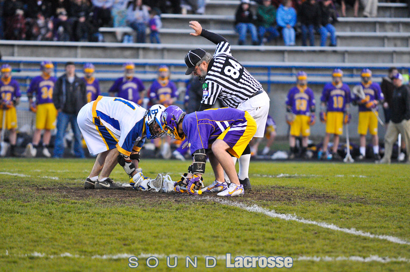 """The big game,""  Issaquah was undefeated both in-state and out of state, coming into this game.  BI 11, Issy 6."