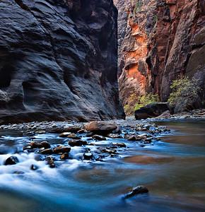 Virgin Narrows, Zion National Park, Utah