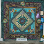 1st Place<br /> Twilight Star Chateau Compass With Birds<br /> Jeanie Pollard