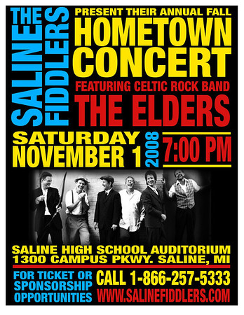 081101 Saline MI Fall Hometown with the Elders