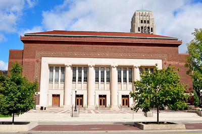 081122 Ann Arbor MI Hill Auditorium Gig
