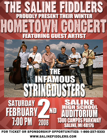 080202 Winter Hometown Show with Infamous Stringdusters
