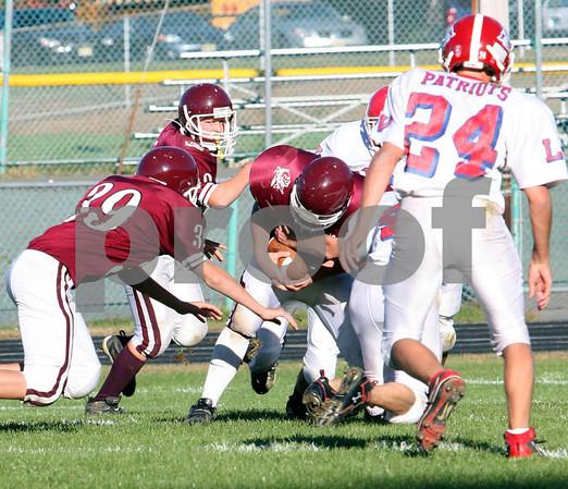 Lenape Valley vs Newton - Freshman Football