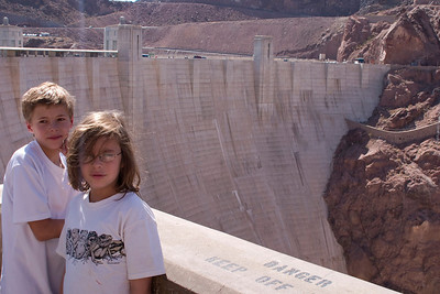 D & A in front of Hoover Dam
