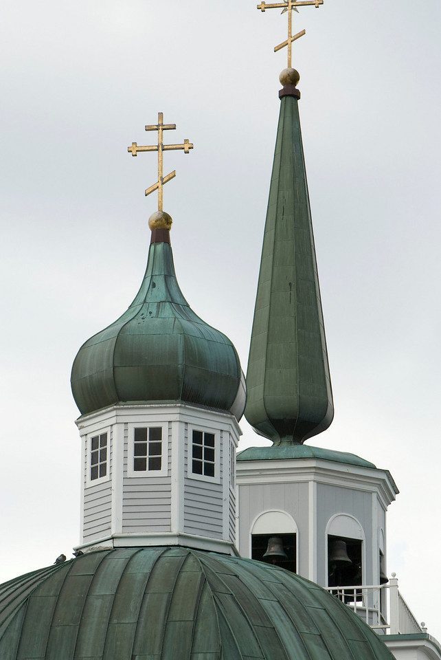 Pretty Russian church in Sitka.