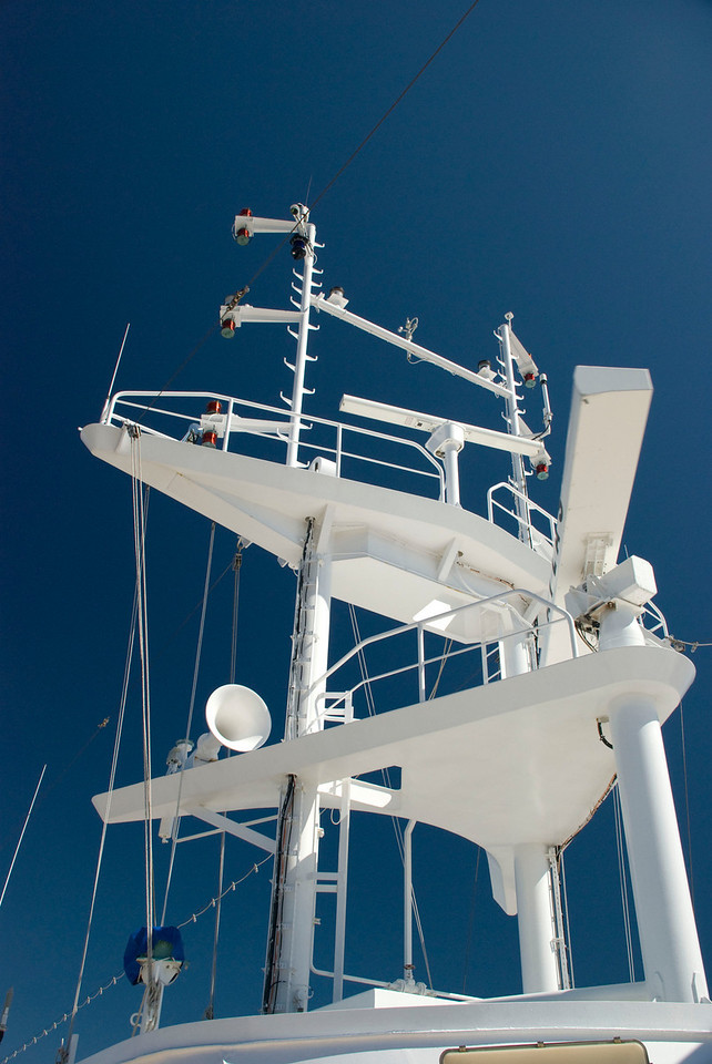 Blue sky and ship gizmos.  Cool!