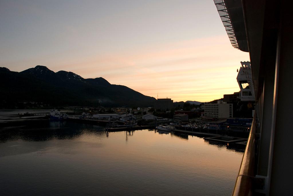 Evening in Juneau.