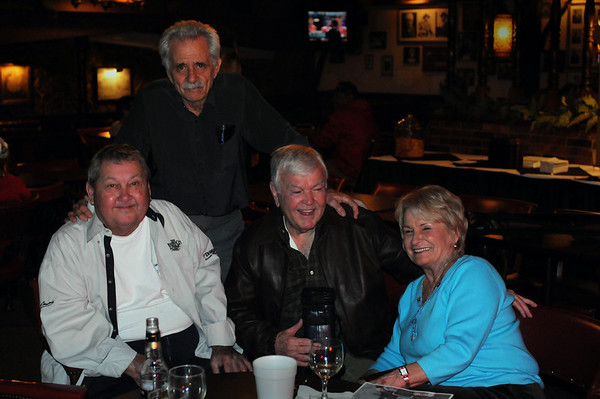 Danny Di Liberto, Ronnie Allen & Marshall Carpenter with JoAnn (Jansco) McNeal