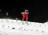 Ben skiing down Silvermine 90m 08