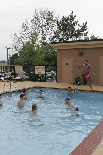 Pool fun at Knoxville, TN Hampton Inn