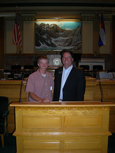 Rep. Sonnenberg with Josh