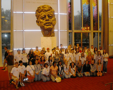 GROUP AT THE KENNEDY CENTER