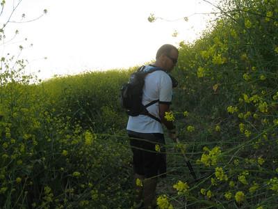 20080417002-New Millenium Trail, trailwork, Ed