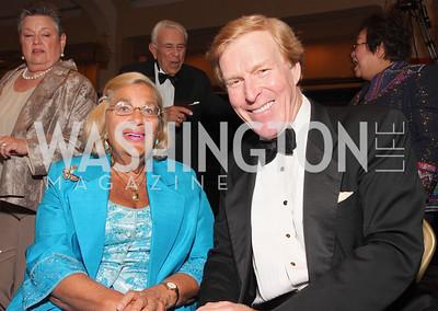 Esther Coopersmith, Bob Ryan,  Photo by Tony Powell
