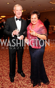 Dennis Wholey, Claudia Fritsche, Photo by Tony Powell