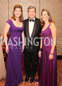 Norah O'Donnell, Roy Blunt, Abigail Blunt,  Photo by Tony Powell