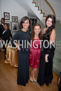 Alina Shriver, Francesca Shriver, Katherine Shriver,Photo by Kyle Samperton