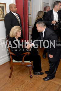 Eunice Shriver, Brett Banford,Photo by Kyle Samperton