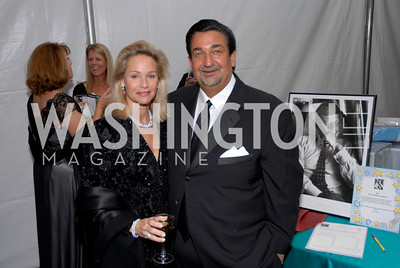 Lynne Leonsis, Ted Leonsis,Photo by Kyle Samperton