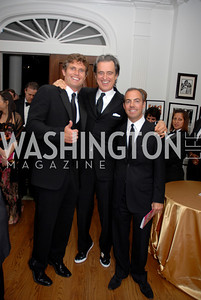 Anthony Shriver, Bobby Shriver, Jimmy Shay,Photo by Kyle Samperton