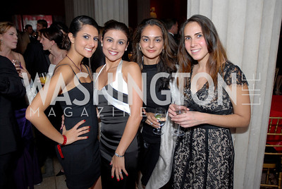 Hastie Karger, Fatima Minnnnnaie, Maryan Khosharay, Sorafa Felter, Photo by Kyle Samperton