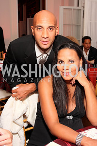 adrian fenty,  michelle fenty, Photo by Tony Powell