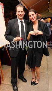 don goldberg, elizabeth tannen, Photo by Tony Powell