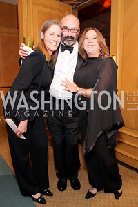 Lauren Pollin, Richard Pollin, Leslie Kessler, Photo by Tony Powell