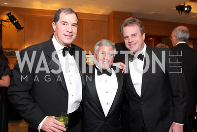 Jim Abdo, Alan Meltzer, Curtin Winsor,Photo by Tony Powell