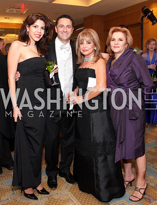 Rima Bitar, George Bitar, Annie Totah, Roya Kingdom, Photo by Tony Powell