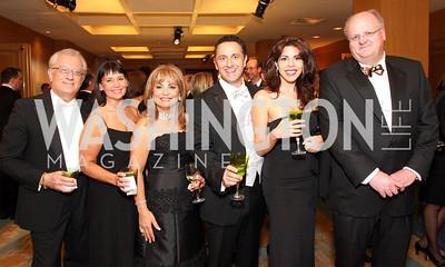 Vicken Poochikian, Susan Mars, Annie Totah, George Bitar, Rima Bitar, Frank Mars,Photo by Tony Powell