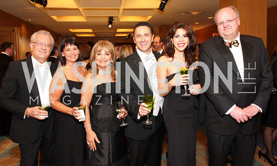 Vicken Poochikian, Susan Mars, Annie Totah, George Bitar, Rima Bitar, Frank Mars,Photo by Tony Powell