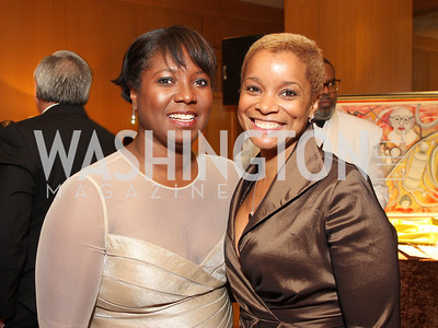 Monica Thompson, Aisha Davis, Photo by Tony Powell