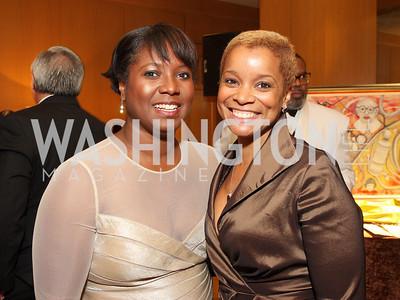Monica Thompson, Aisha Davis, Photo by Tony Powell