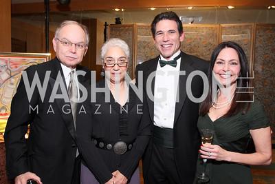 Joe Brodecki, Shelley Brodecki, Phil Bobrow,  Faith Bobrow, Photo by Tony Powell