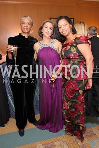 Renee Carter, Vera Chawla,  Kimberly Walton, Photo by Tony Powell