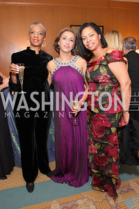 Renee Carter, Vera Chawla,  Kimberly Walton, Photo by Tony Powell