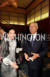 Yoriko Fujisaki, Colin Powell (James R. Brantley)