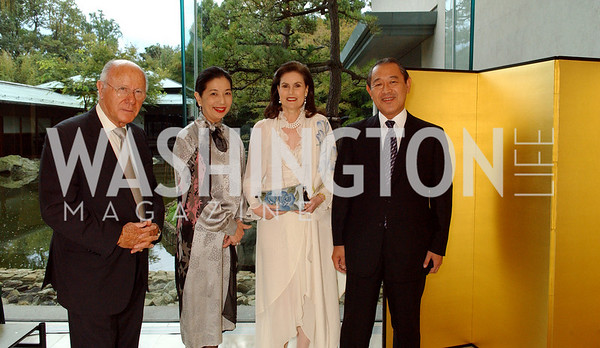 Arnaud de Boschgrave, Yoriko Fujisaki, Alexandra de Boschgrave, Ichiro Fujisaki  (James R. Brantley)