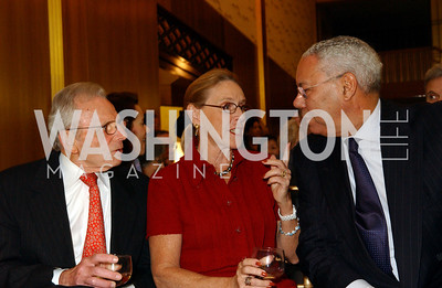 Frank Carlucci, Marcia Carlucci, Colin Powell   (James R. Brantley)