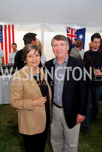 Amb. Dennis & Betty Richardson, Photo by Kyle Samperton